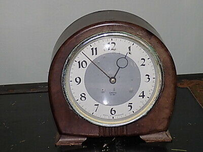 Vintage Smith Sectric  Mantle Clock-Bakelite case Rounded Top