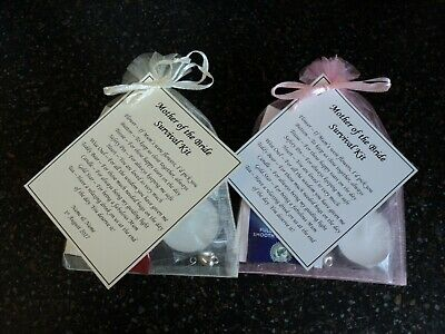 Mother / Father of the Bride or Groom Survival Kit - Wedding Favour / Keepsake