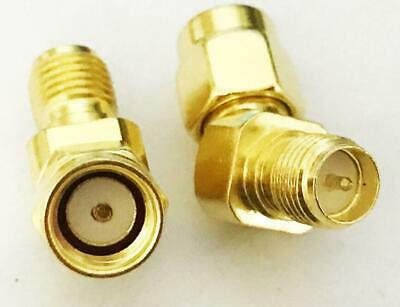 2 Pack  SMA Male to SMA Male Coaxial RF adapter US Stock M506