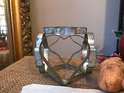 Vintage Cookie Biscuit Pastry Cutter Multi Faced Six Sided Retro Baking Tool