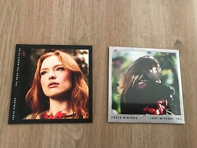 Freya Ridings You Mean The World To Me / Lost Without You 2 x CD's New Limited