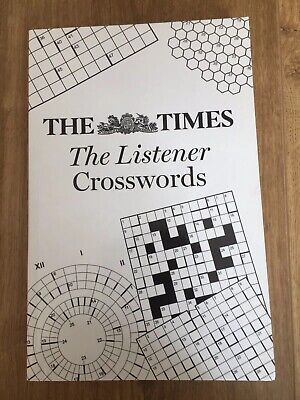 The Times The Listener Crosswords Paperback Book Chambers 2008
