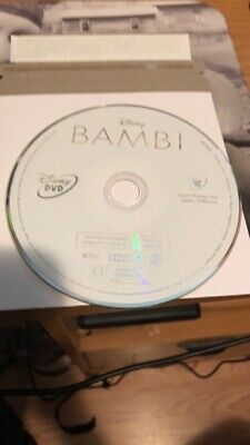 Bambi (DVD, 2017, Signature Edition)no cover or art work...disc only!!
