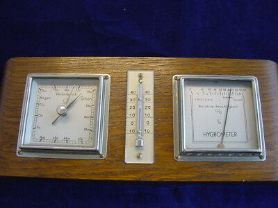 Lufft Barometer, Hygrometer, Wetterstation, Thermometer
