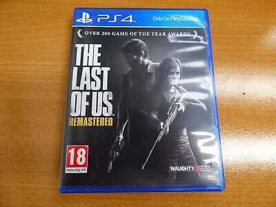 The Last of Us Remastered PS4 Game #E2