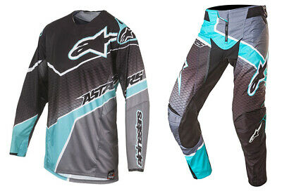 Alpinestars Techstar Venom Kit Cyan/Blk/Gry MX Motocross Quad off road Motocross