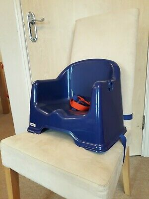 Little Star Chair Booster Seat Blue - Used but excellent condition