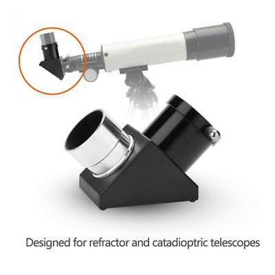 """1.25"""" 90°Zenith Mirror Erecting Image Prism Accessory for Astronomical Telescope"""