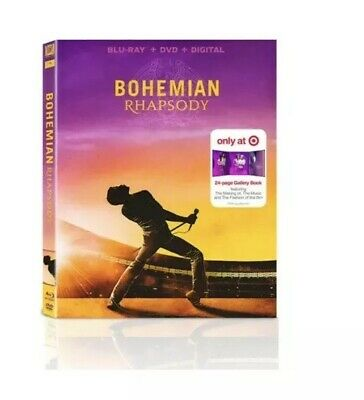 Bohemian Rhapsody Blu-ray/DVD/Digital, 2019 Target Exclusive