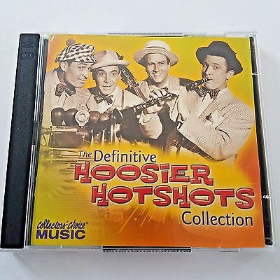 The Definitive Hoosier Hotshots Collection 2 CD Set Collectors Choice Music