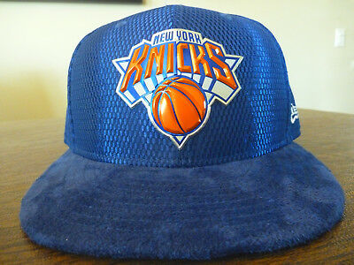 aa0eb1db9548b New York Knicks New Era 59Fifty Nba On Court Collecti Blue Fitted Hat Size 7  1
