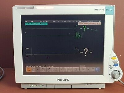 Patient Monitor Philips IntelliVue MP 70 Bedside Touchscreen  Patient Monitor MP