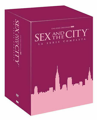 SEX AND THE CITY LA SERIE COMPLETA 17 DVD HBO carrie samantha miranda charlotte