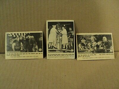 Lot of 3 Three Stooges 1966 Fleer Trading Cards  20  24  58