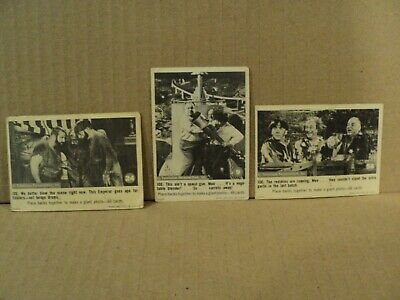 Lot of 3 Three Stooges 1966 Fleer Trading Cards  9  24  58
