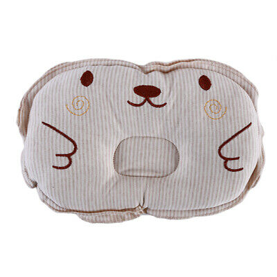 Newborn Infant Baby Anti Roll Pillow Flat Head Neck Prevent Infant Support BabLH