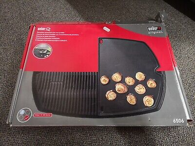 Weber Q300 series griddle plate 6506 (new worth £89.99)