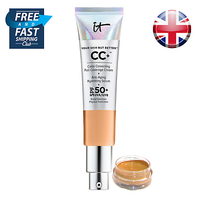 IT Cosmetics, Your Skin But Better CC+ Cream SPF 50+  -  2ml / 4ml Sample Sizes