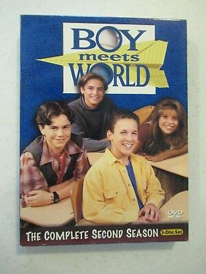 2004 Boy Meets World Dvd Set Complete Second Season (3 Discs)