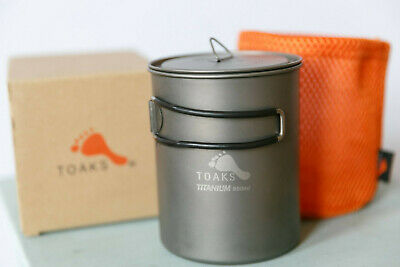 TOAKS pot-850 Ultralight Outdoor Camping Titanium Topf 850 ml Cup