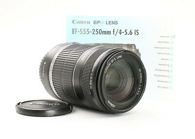 Canon EF-S 55-250 mm 4.0-5.6 IS + TOP (224327)