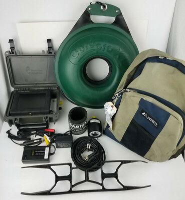Military Sartek Wellcam 1.5 Drop Camera System 150' with LCD Color Monitor