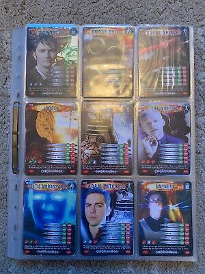 Dr Doctor Who Battles In Time Complete Exterminator Set 275/275