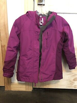 3428b1fcc LANDS END GIRLS Size 7-8 Squall 3-in-1 Jacket - $24.99 | PicClick