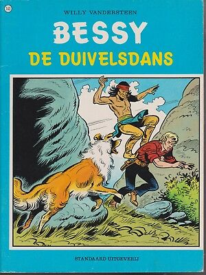 BESSY strip De duivelsdans 143 Willy Vandersteen