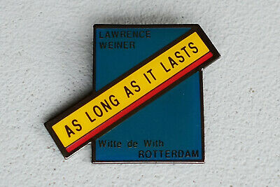 LAWRENCE WEINER, As Long as it Lasts, 1993