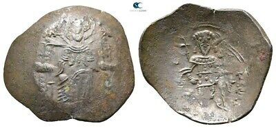 Savoca Coins Isaac II Angelus Trachy Constantinople 2,23 g / 23 mm !PEP9275