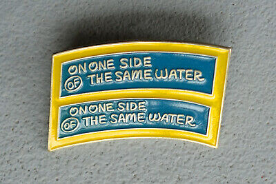 LAWRENCE WEINER, On One Side of the Same Water, 1990