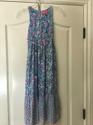 0f55b7d89977 Lilly Pulitzer for Target Girls My Fans Size 6 / 6x Years Maxi Dress EUC