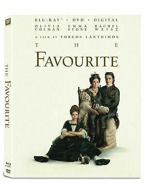 The Favourite (Blu-Ray + DVD + Digital) BRAND NEW