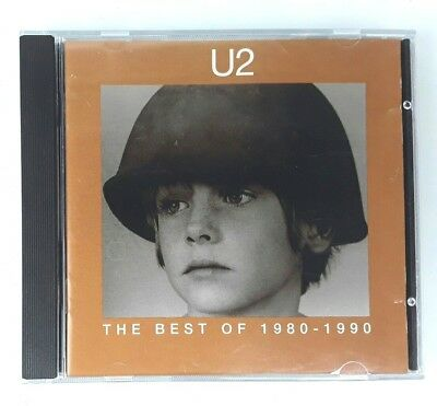 U2 The Best Of 1980-1990 CD - Island Records 1998 Import - Fast Dispatch
