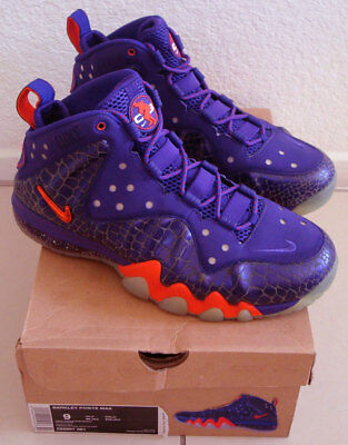 newest collection 6d763 ddd07 DS Nike Barkley Posite Max PHOENIX SUNS Purple Orange 555097-581 size 9