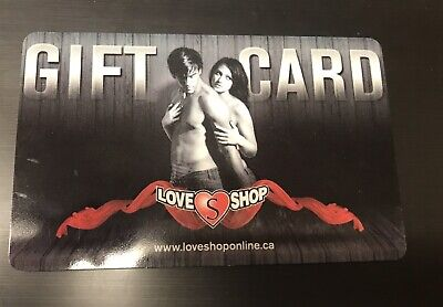 Love Shop Gift Card - $146.90 Mail Delivery