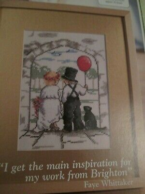 'A Couple Of Sweethearts'  All Our Yesterdays Cross Stitch Chart Only