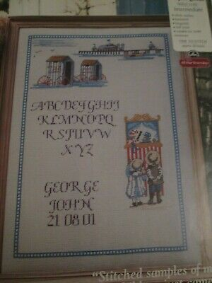 'Seaside Fun For Everyone'  All Our Yesterdays Cross Stitch Chart Only