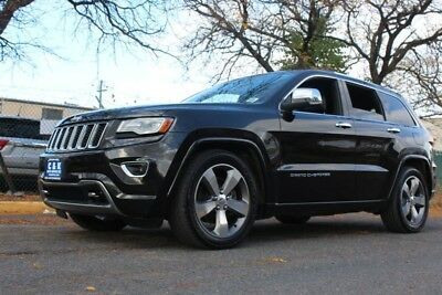 2014 Jeep Grand Cherokee OVERLAND,5.7L HEMI NAVIGATION,PANO,LEATHER HTD SEA HEATED & COOLED SEATS, HEATED STEERING WHEEL, POWER LIFTGATE, ADJUST RIDE HEIGHT