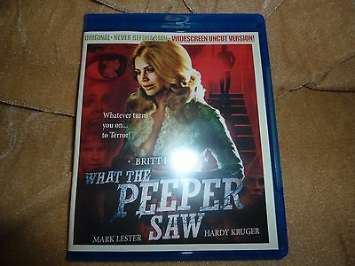 What the Peeper Saw (1972) [1 Disc Region: A Blu-ray]