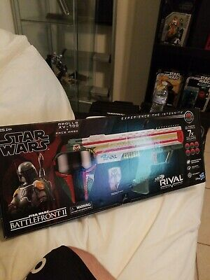 Star Wars BOBA FETT NERF RIVAL BATTLEFRONT II Apollo XV-700 & Mask