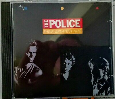The Police, Their Greatest Hits, CD Album ( 1990 )