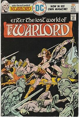 The Warlord #1 1976 Bronze age DC comic. Mike Grell art