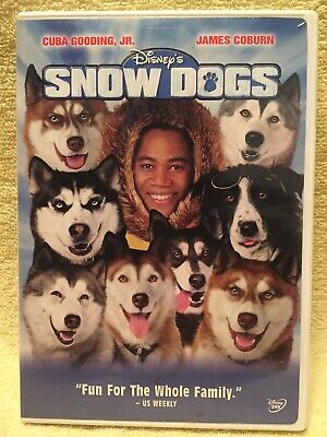 DISNEY'S SNOW DOGS [DVD] * Cuba Gooding Jr. (Family) -- FREE SHIPPING!!!
