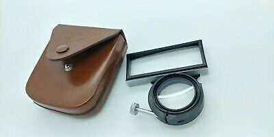 Vintage AGFA AMBI-SILETTE PROXIMETER w/original leather case Made in Germany