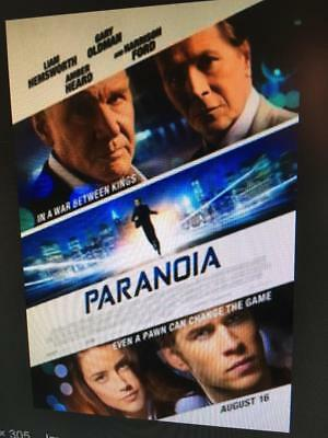 PARANOIA - Used DVD Disc ONLY !* PLEASE READ DESCRIPTION *