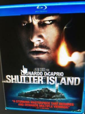 SHUTTER ISLAND -  Used BLU-RAY Disc ONLY * PLEASE READ DESCRIPTION
