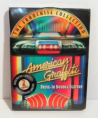 American Graffiti Drive-In Double Feature (DVD, 2004, 2-Disc Set) NEW!