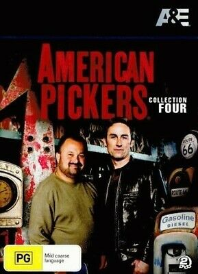 American Pickers : Collection 4 (DVD, 2013, 2-Disc Set) R4
